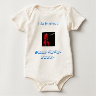 ila's baby jumpsuit. baby bodysuit