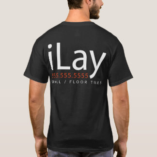 iLay. Wall Floor Tiling Tiler Promotional Wear T-Shirt