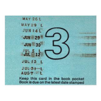 Ilium Public Library Card No. 3