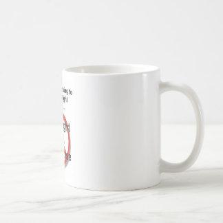 I'll do anything to lose weight except ... basic white mug