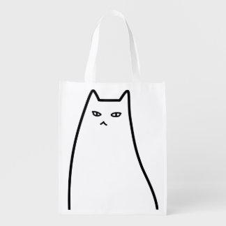 < Ill-humored cat > Sullen cat