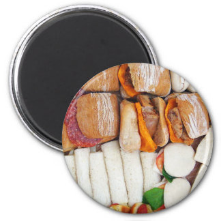 I'll Just Have a Sandwich! 6 Cm Round Magnet