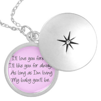 I'll love you forever lockets