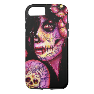 I'll Never Forget Day of the Dead Girl iPhone 8/7 Case