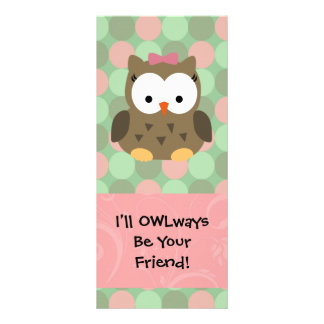 I'll OWLways be Your Friend Rack Card