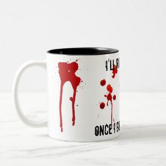 I'll resurrect... Two-Tone coffee mug