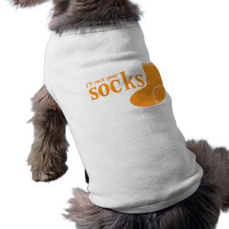 Ill rock your socks sleeveless dog shirt