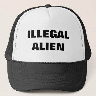 ILLEGAL ALIEN TRUCKER HAT