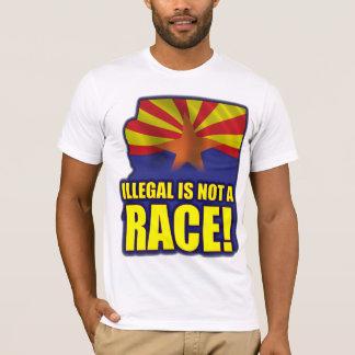 Illegal is not a Race T-Shirt