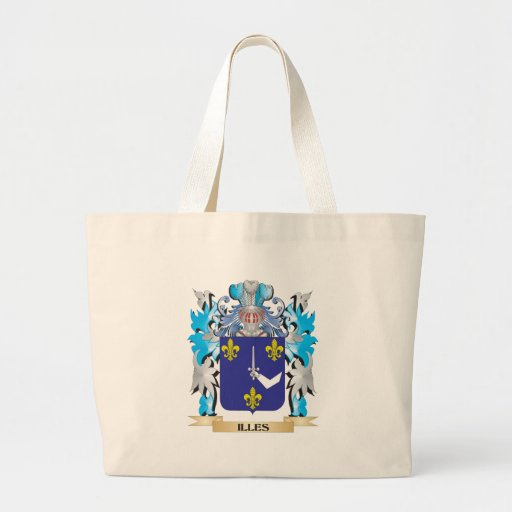 Illes Coat of Arms - Family Crest Bags