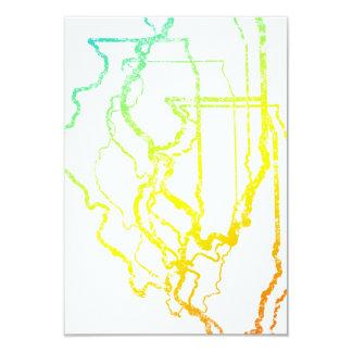 illinois chill blur 9 cm x 13 cm invitation card