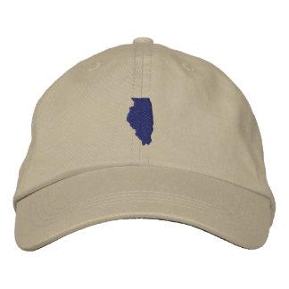 Illinois Embroidered Cap