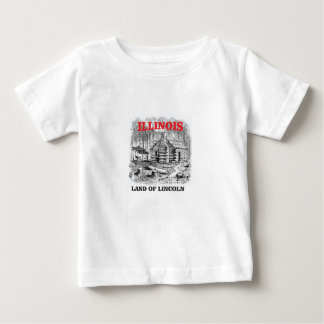 Illinois land of Lincoln Baby T-Shirt