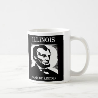 Illinois Land of Lincoln Coffee Mug