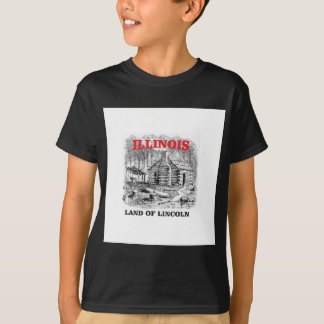 Illinois land of Lincoln T-Shirt