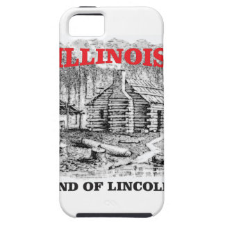 Illinois land of Lincoln Tough iPhone 5 Case