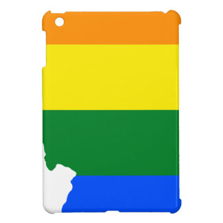 Illinois LGBT Flag Map iPad Mini Case