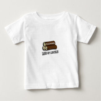 Illinois logs of Lincoln Baby T-Shirt