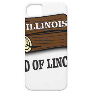 Illinois logs of Lincoln Case For The iPhone 5