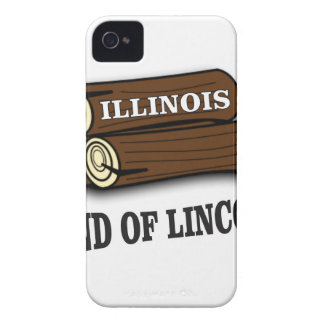 Illinois logs of Lincoln iPhone 4 Case-Mate Cases