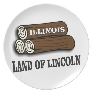 Illinois logs of Lincoln Plate