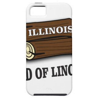 Illinois logs of Lincoln Tough iPhone 5 Case
