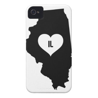 Illinois Love iPhone 4 Covers