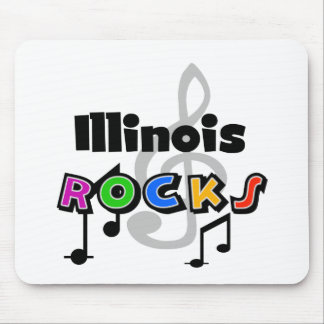 Illinois Rocks Mouse Pad