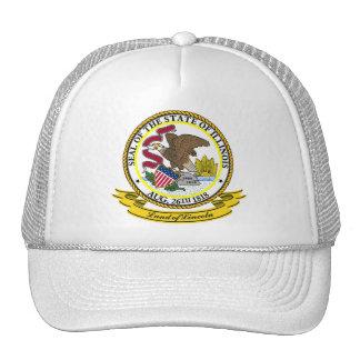 Illinois Seal Cap