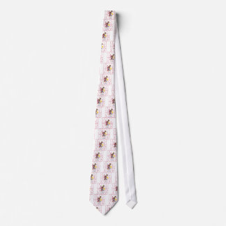 Illinois state flag text tie