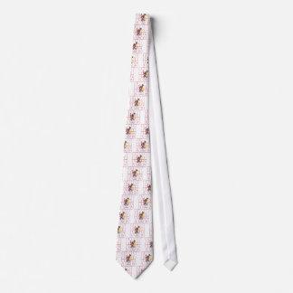 Illinois state flag text tie