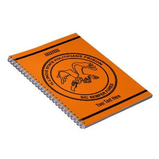 Illinois State Politicians Prison Notebook