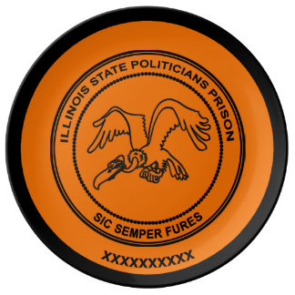 Illinois State Politicians Prison Plate