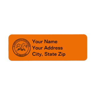 Illinois State Politicians Prison Return Address Label