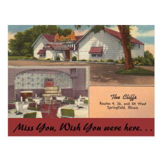 Illinois, The Cliffs, Springfield Postcard