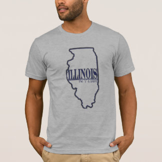 ILLINOIS - The S is Silent T-Shirt