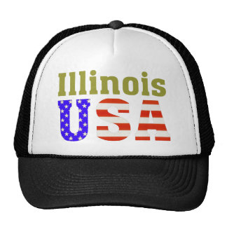 Illinois USA! Cap
