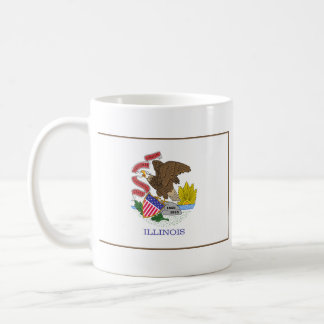 Illinoisan Flag + Map Mug