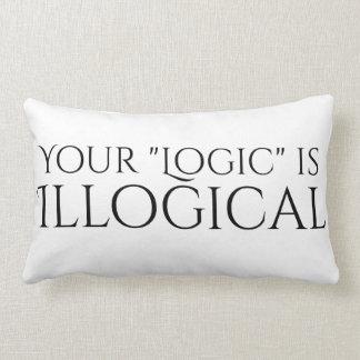 Illogical Logic Lumbar Pillow