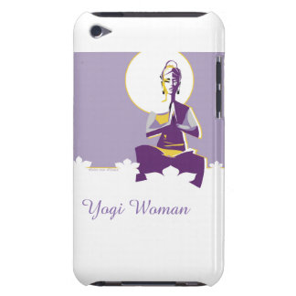 Illuminate woman or Yogini, with full 'moon mind' iPod Case-Mate Case