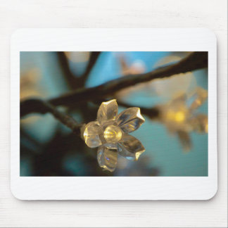 Illuminated Cherry Blossom Mouse Pad