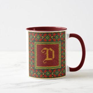 Illuminated D Mug
