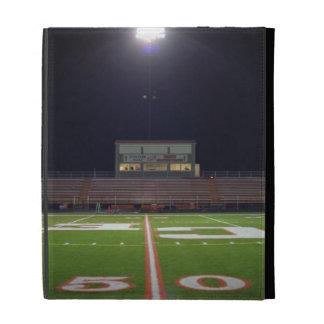 Illuminated Football Field iPad Folio Cover