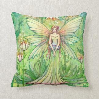 Illuminated Garden Fairy Fantasy Art Cushion