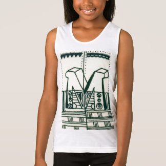 Illuminated M initial Day of Giving Singlet
