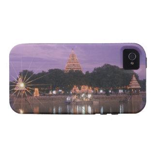 Illuminated Mariamman Teppakulam tank, Madurai, Vibe iPhone 4 Cover