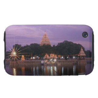 Illuminated Mariamman Teppakulam tank, Madurai, iPhone 3 Tough Case