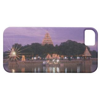 Illuminated Mariamman Teppakulam tank, Madurai, iPhone 5 Cover