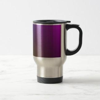 Illuminated Mauve/ green>Patterned Travel  Mug. Travel Mug