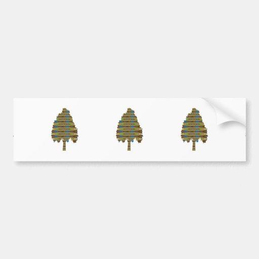 ILLUMINATED Revolving Tree: Graphic Art  LOWPRICE Bumper Stickers